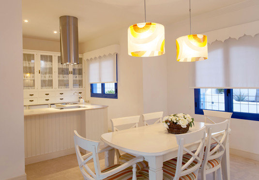 property home lighting Kitchen living room cottage