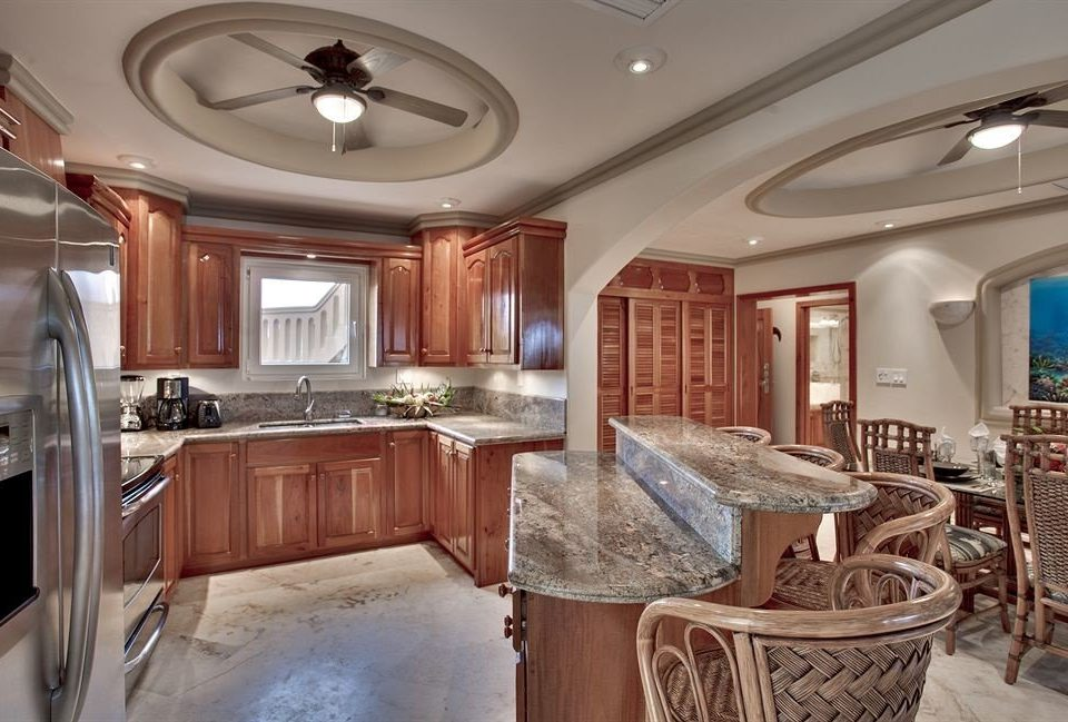 property home vehicle mansion cottage Kitchen yacht
