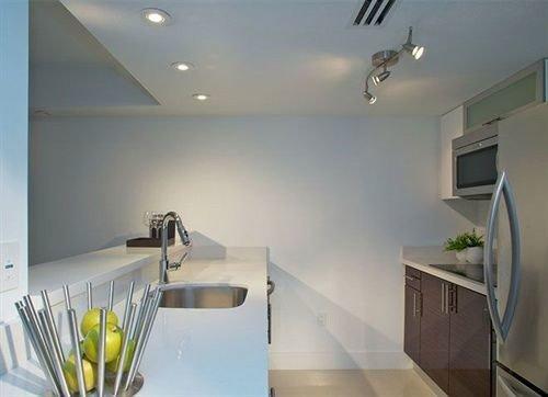 property Kitchen lighting home daylighting counter