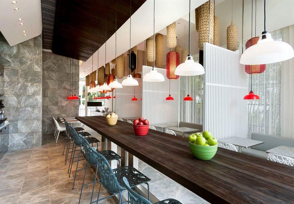 property Kitchen flooring loft restaurant counter