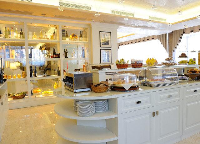 white home food Kitchen counter restaurant