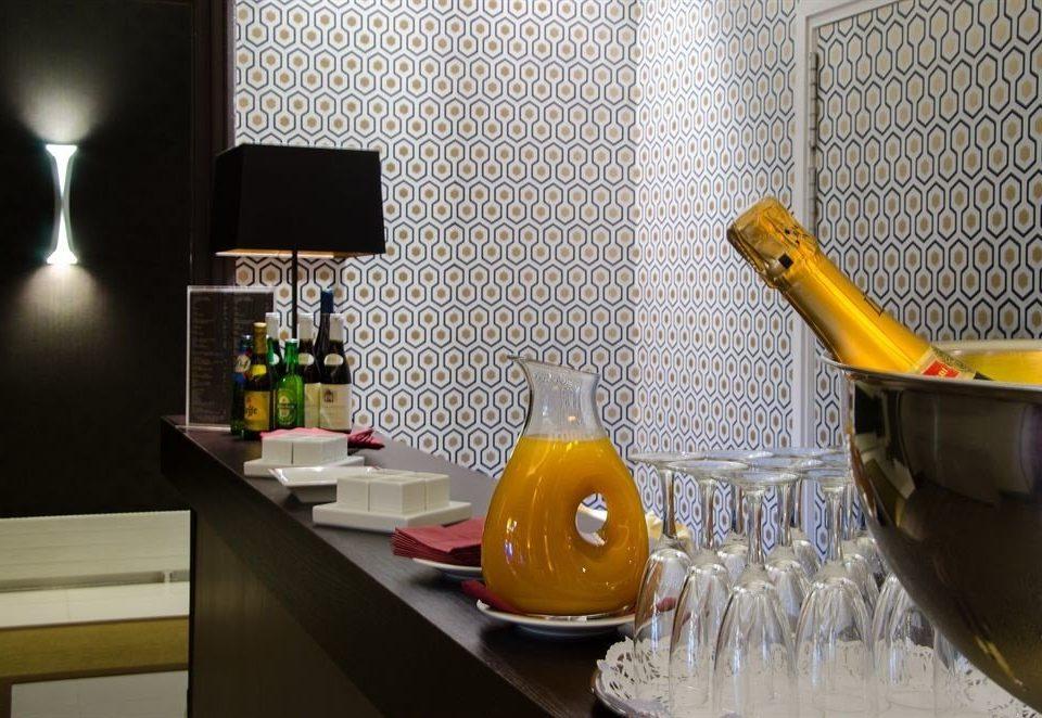 yellow glass Kitchen lighting counter restaurant