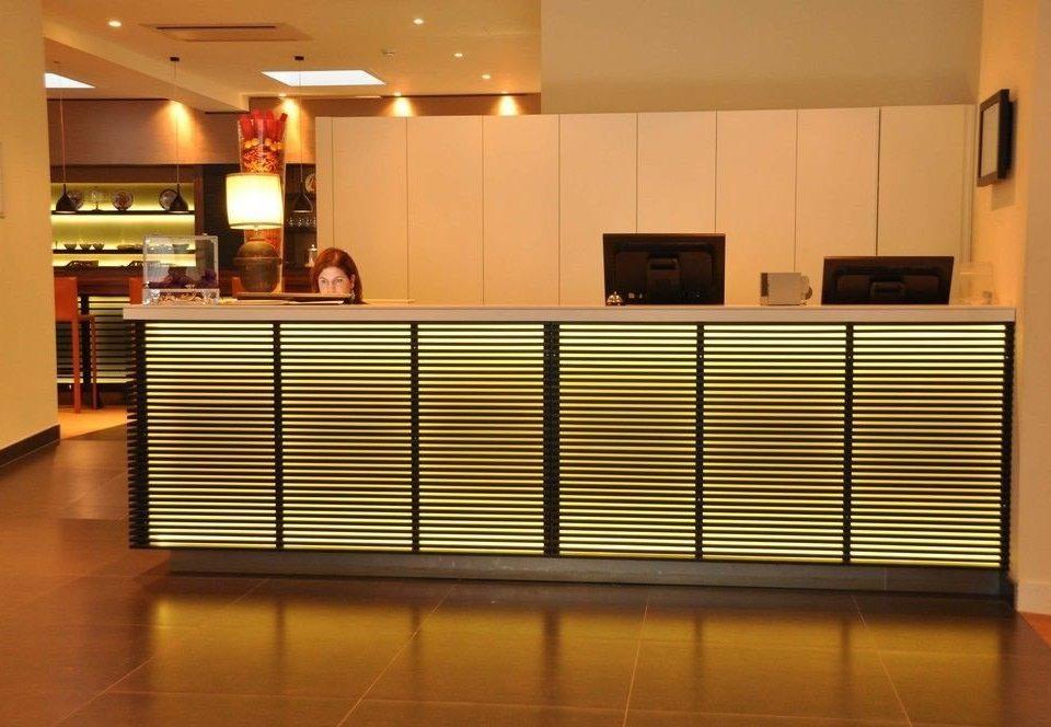 Kitchen receptionist cabinetry Lobby auditorium