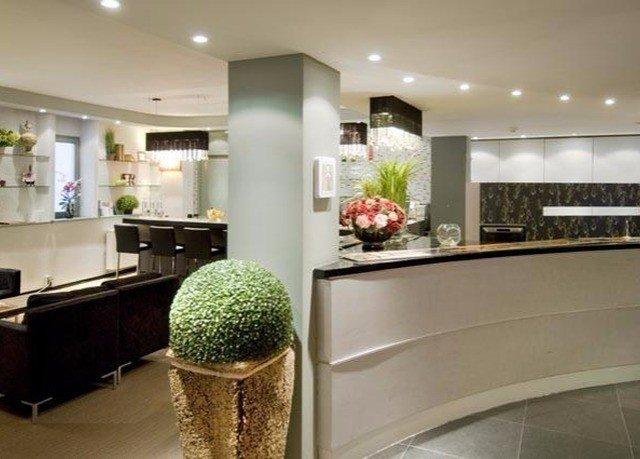 property countertop Lobby cabinetry Kitchen condominium flooring