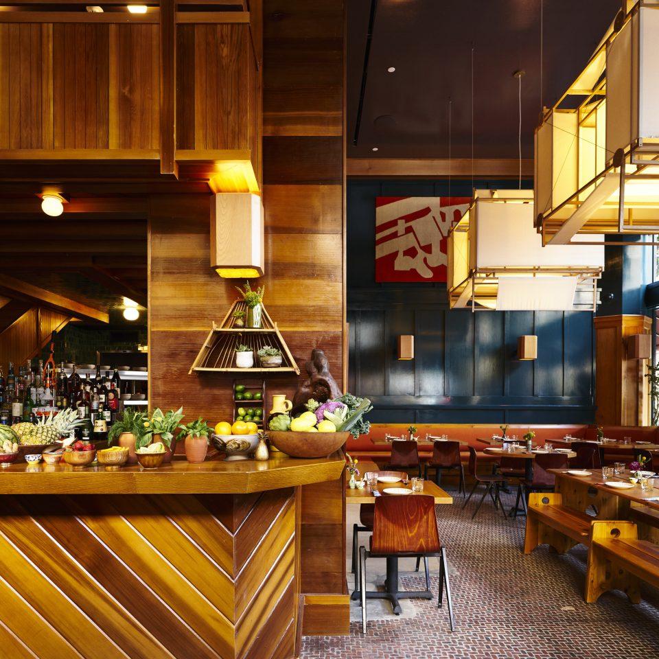 Kitchen countertop restaurant Lobby
