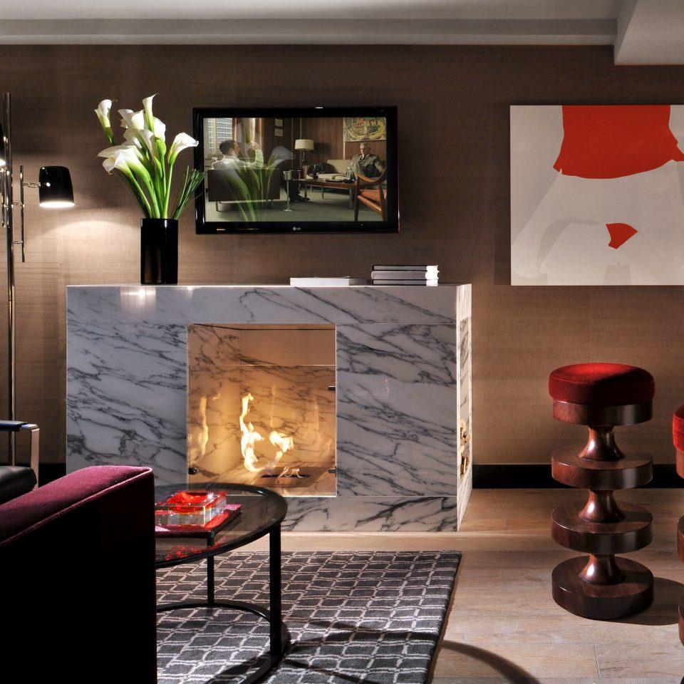 Luxury Modern home living room lighting hearth Kitchen cottage