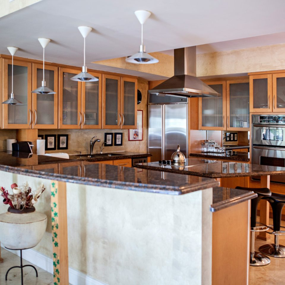 Kitchen Modern property cabinetry home hardwood cuisine classique cottage countertop appliance