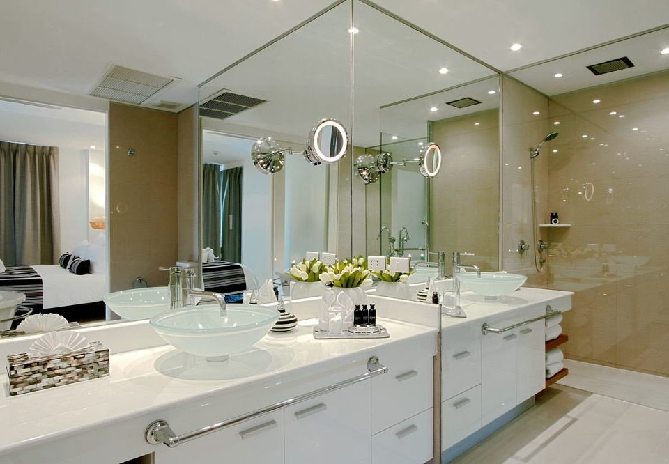 bathroom property sink home lighting counter Kitchen Modern