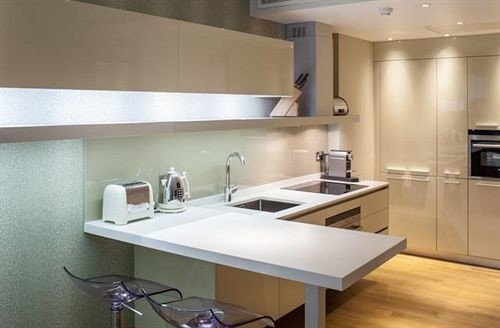 property Kitchen countertop lighting home Modern bathroom