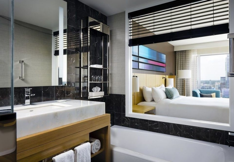 bathroom property sink home white condominium living room Kitchen Suite Modern