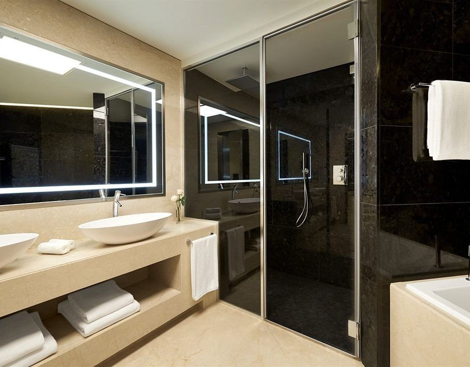 bathroom property house home sink Modern Suite Kitchen condominium