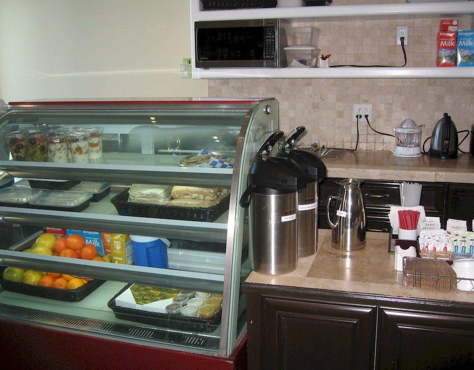 Resort Kitchen appliance counter restaurant food machine items fast food kitchen appliance cooking oven cluttered