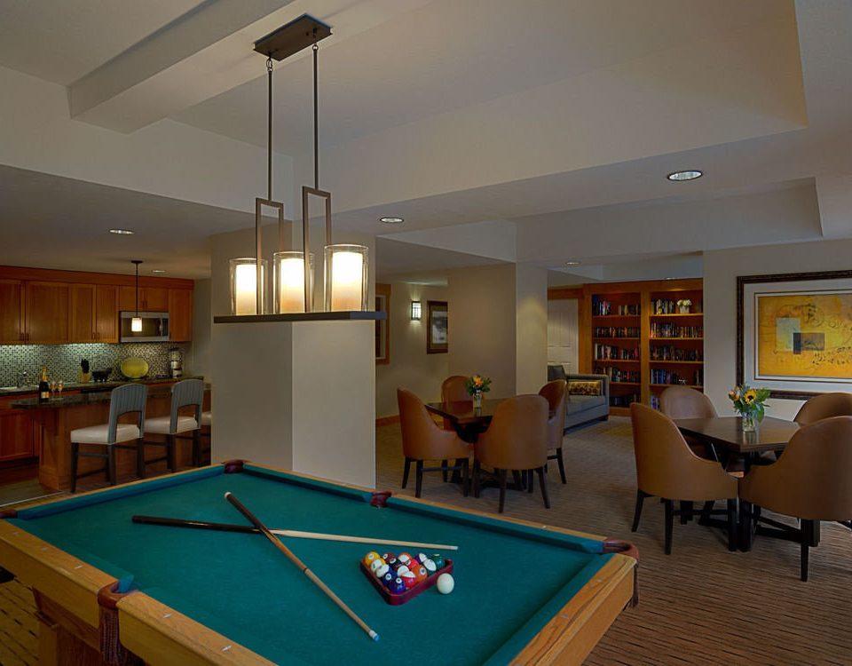 poolroom pool table recreation room billiard room property Kitchen pool ball scene Resort condominium Villa