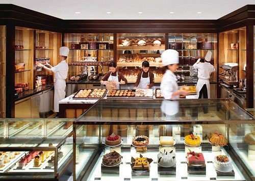 bakery Kitchen counter delicatessen food buffet restaurant Shop