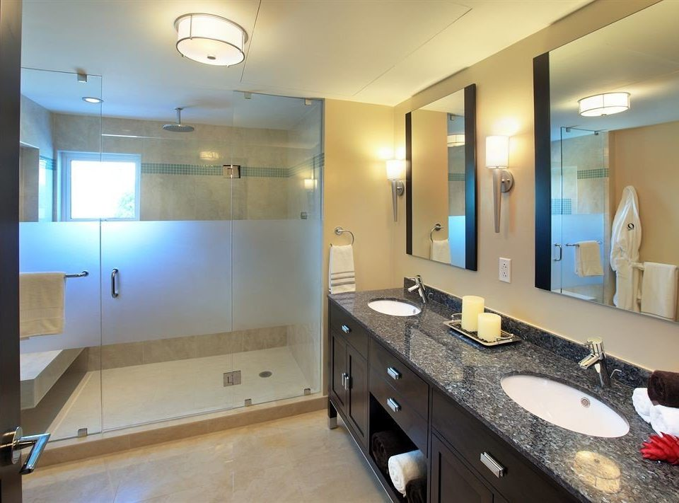 bathroom sink property mirror home Suite condominium Kitchen cottage