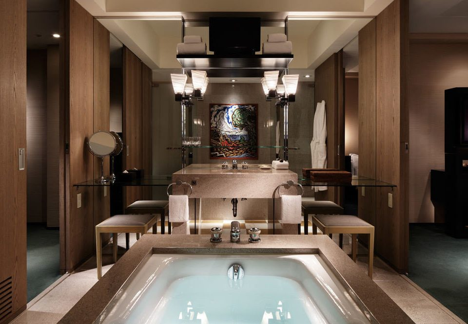 property bathroom home countertop mansion Suite swimming pool Kitchen
