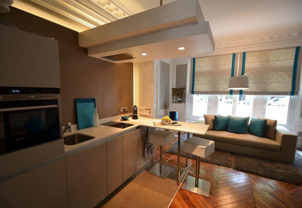 property living room home condominium lighting Suite cottage Kitchen