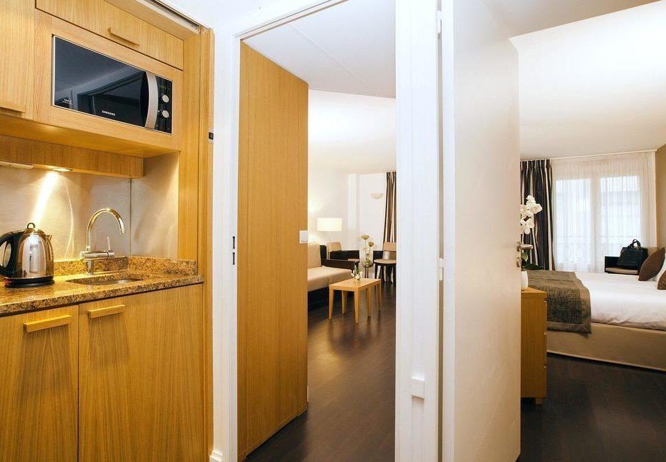 property hardwood home Suite condominium Kitchen wood flooring