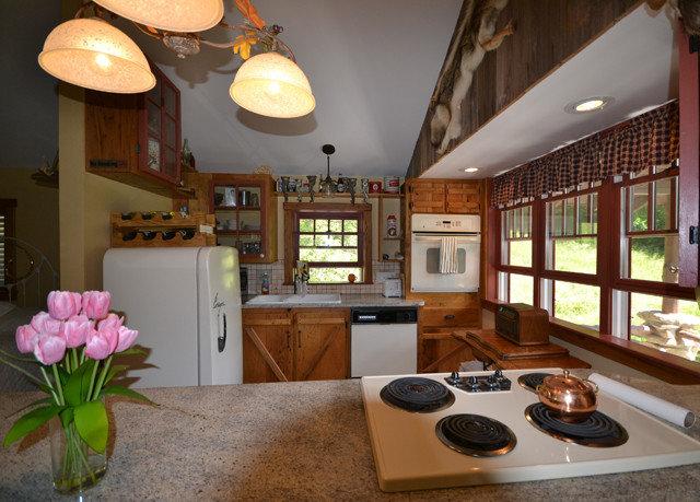 property Kitchen living room home condominium cottage Villa mansion farmhouse