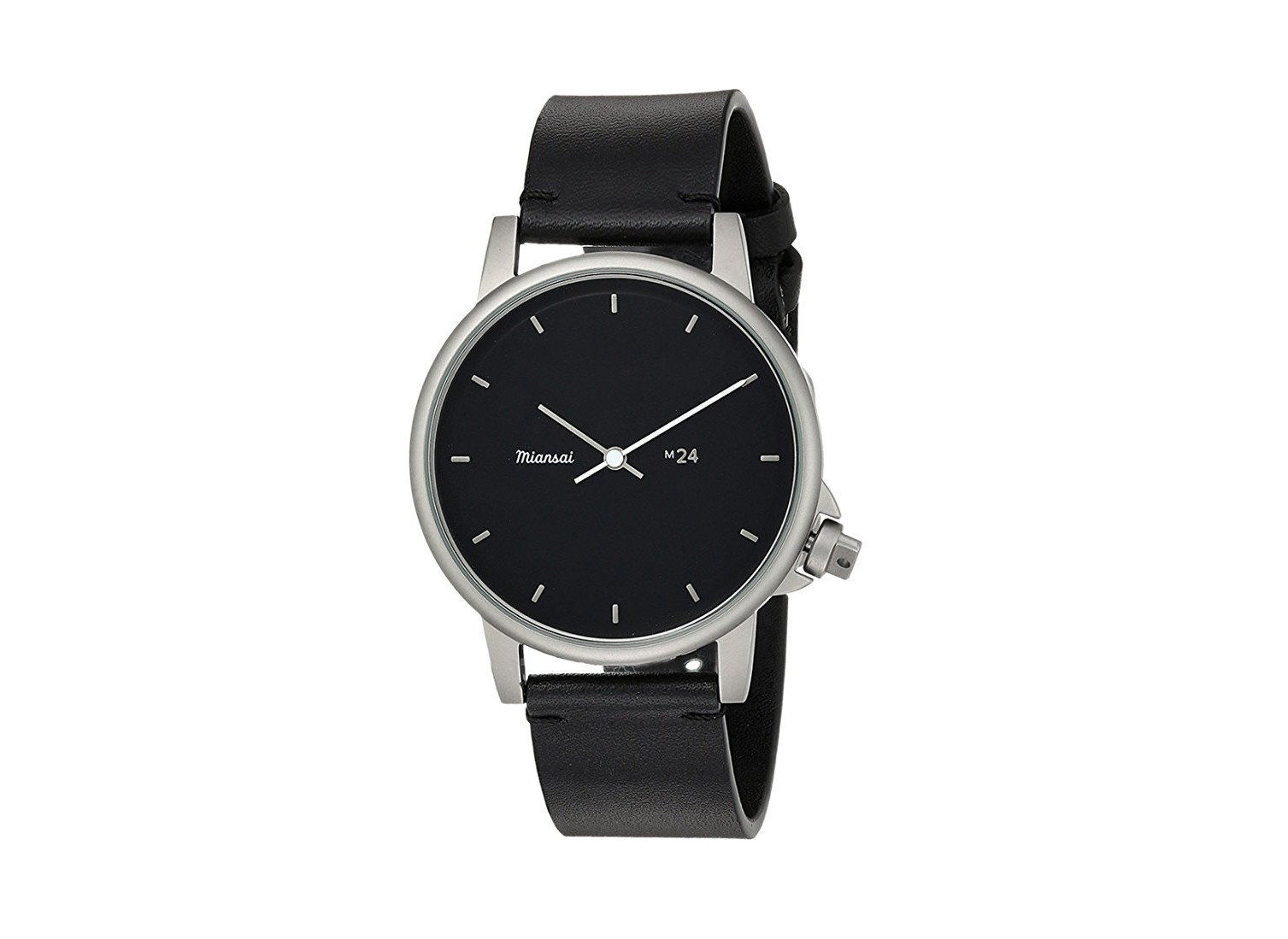 shopping Style + Design watch watch accessory black watch strap strap product product design metal font brand silver platinum