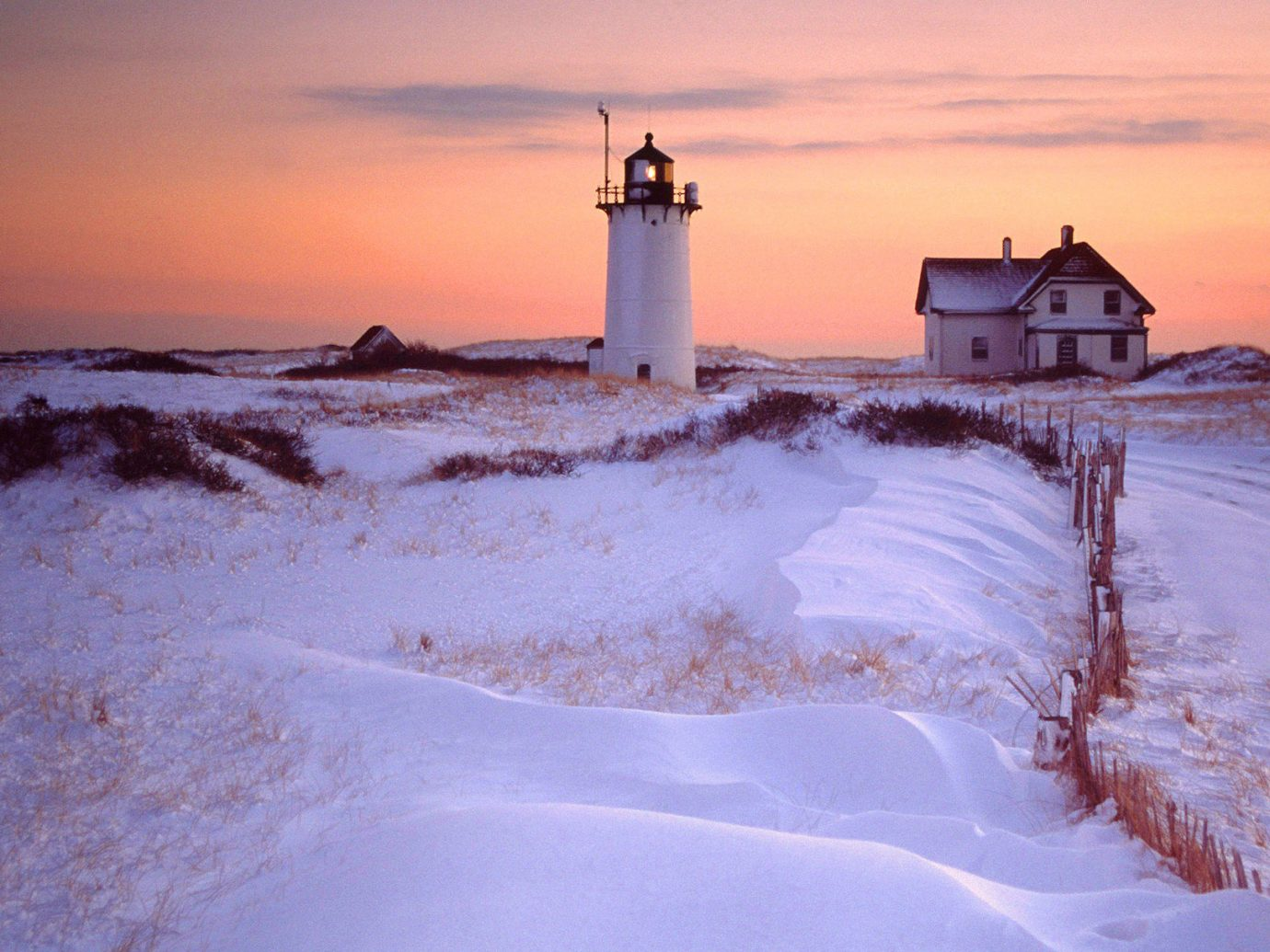 Trip Ideas sky outdoor snow Winter Nature weather tower Sea season lighthouse morning Ocean arctic Beach Coast landscape sand Sunset dawn wave