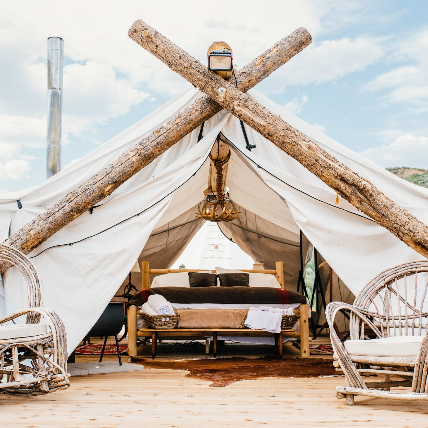 Glamping New York