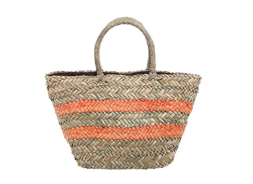 Style + Design handbag bag basket shoulder bag tote bag accessory fabric