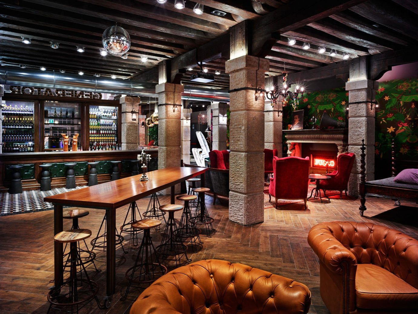 Hotels indoor chair ceiling room Lobby Bar restaurant interior design café furniture area