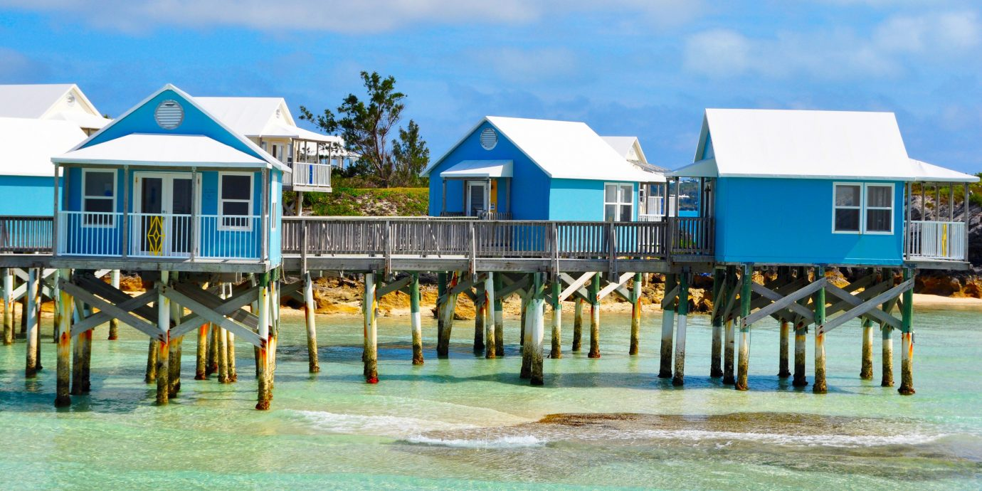 Trip Ideas sky outdoor water leisure Beach Resort vacation walkway house caribbean dock estate boardwalk pier Sea swimming pool marina swimming shore