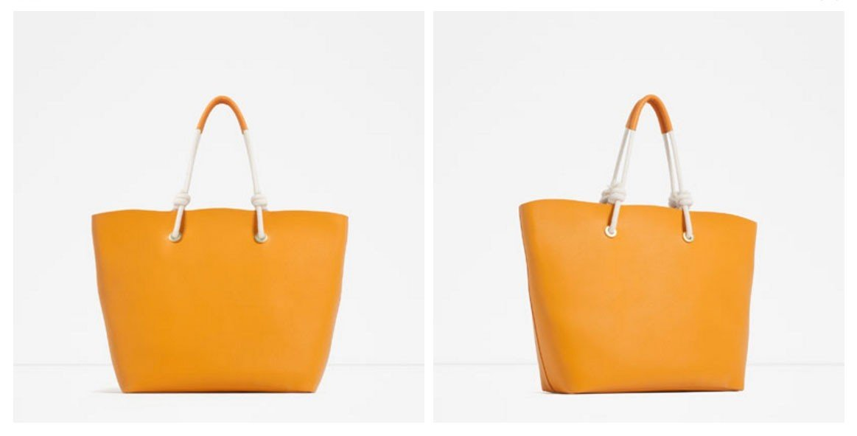 Style + Design handbag wall orange yellow bag tote bag product lighting fashion accessory leather brand