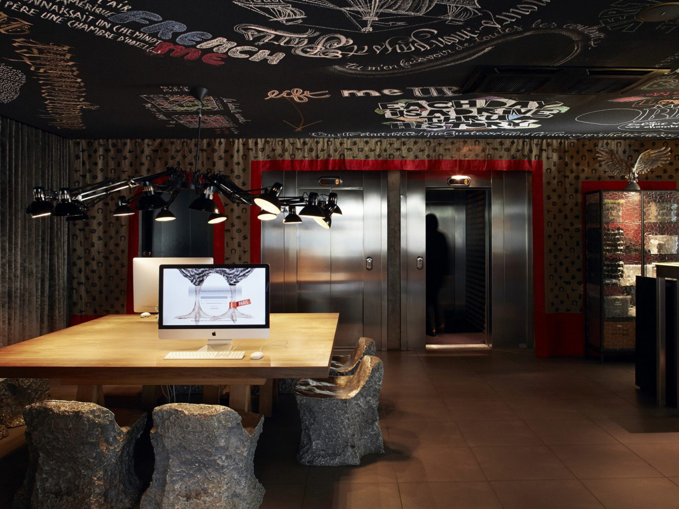 Hotels indoor floor Living room interior design restaurant Bar Lobby Design Boutique wood furniture