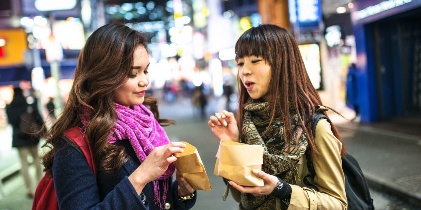 Food + Drink person woman color road crowd outdoor street City shopping pedestrian infrastructure fashion market store