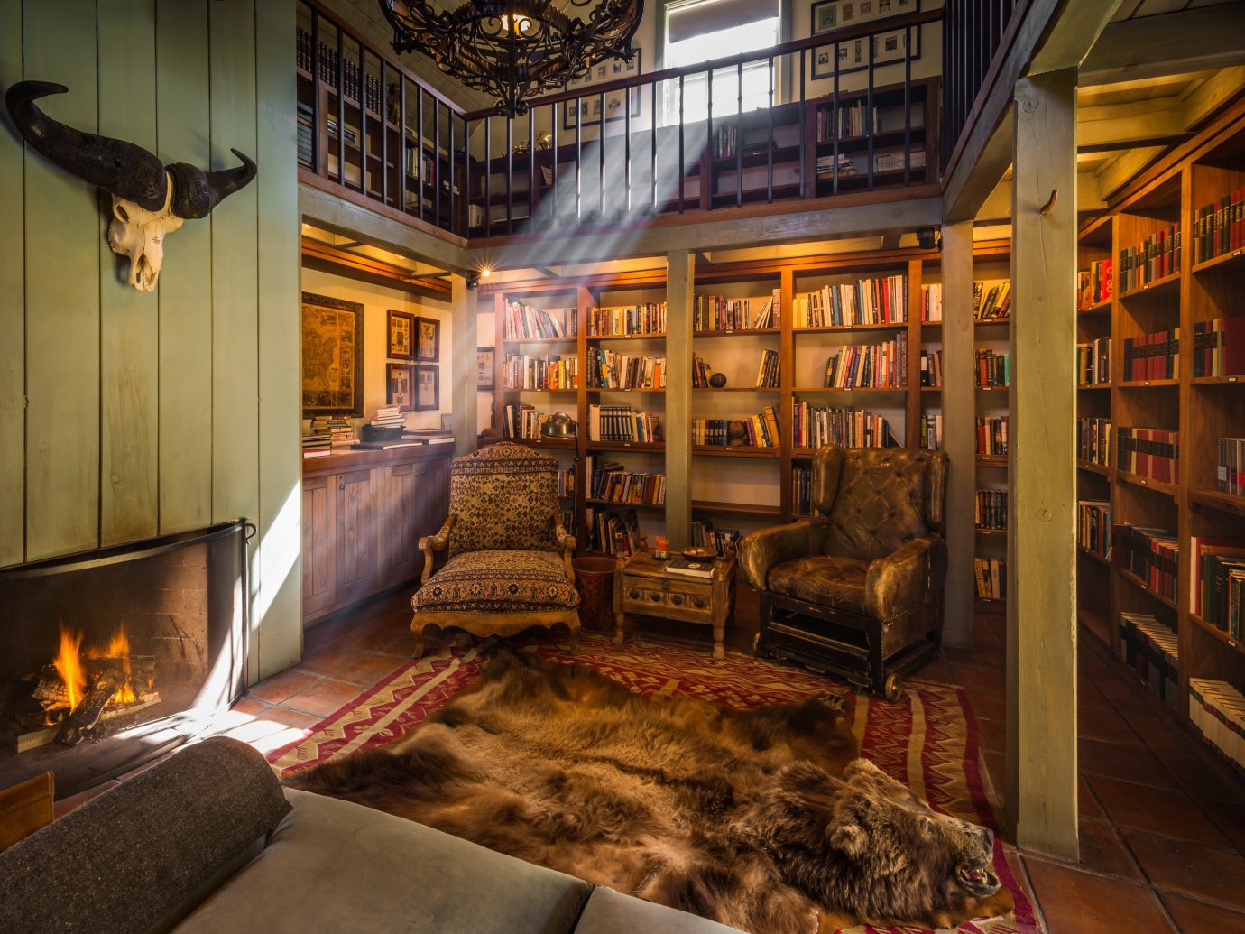 Boutique Hotels Fall Travel Hotels Outdoors + Adventure indoor floor room interior design home living room library furniture