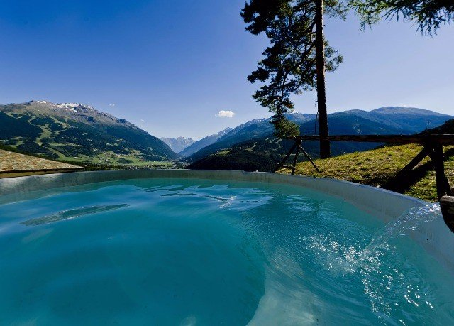 sky water mountain Nature swimming pool Lake mountain range Ocean Lagoon Sea overlooking