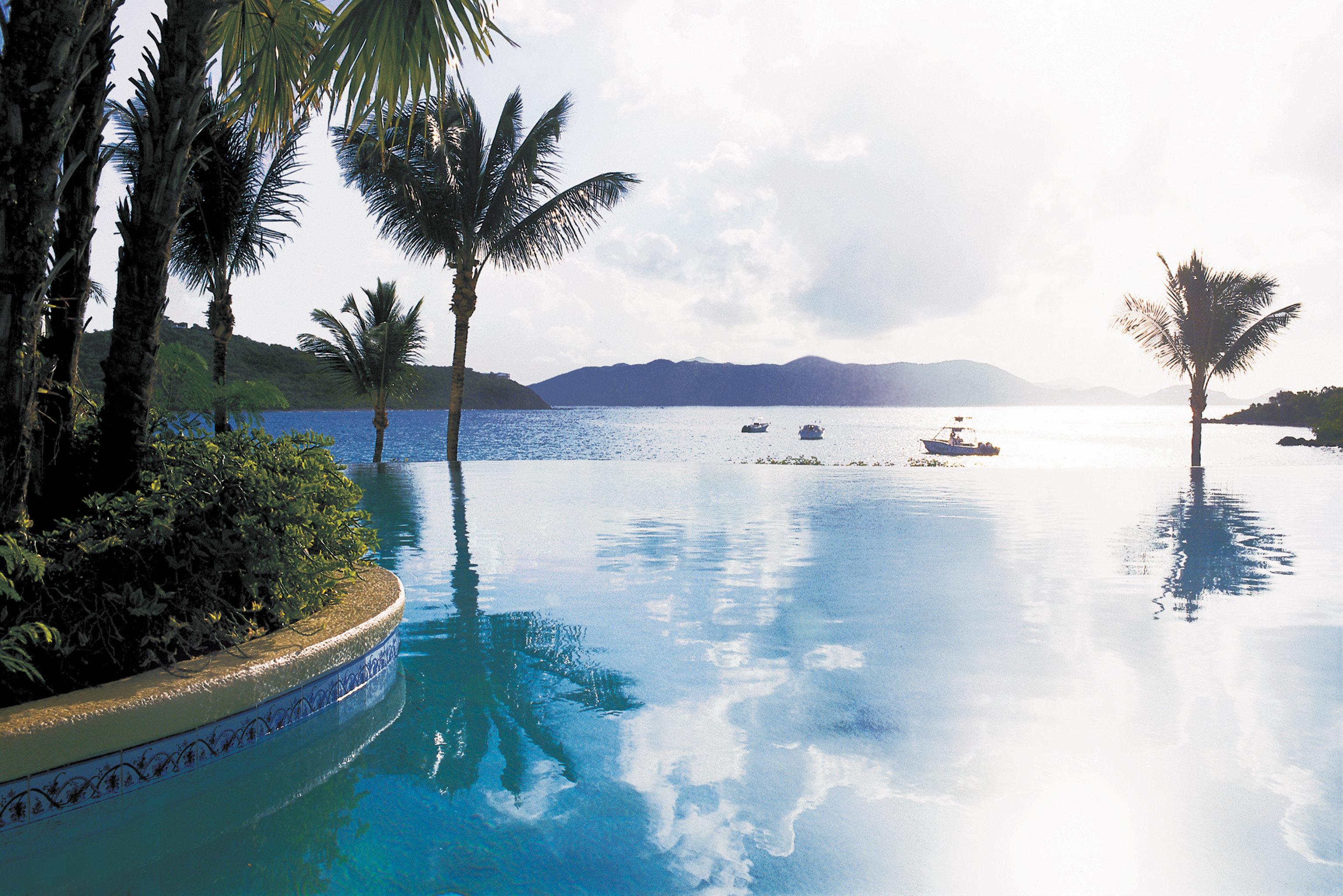 tree sky water plant palm Sea Ocean arecales swimming pool Nature Lake Lagoon shore