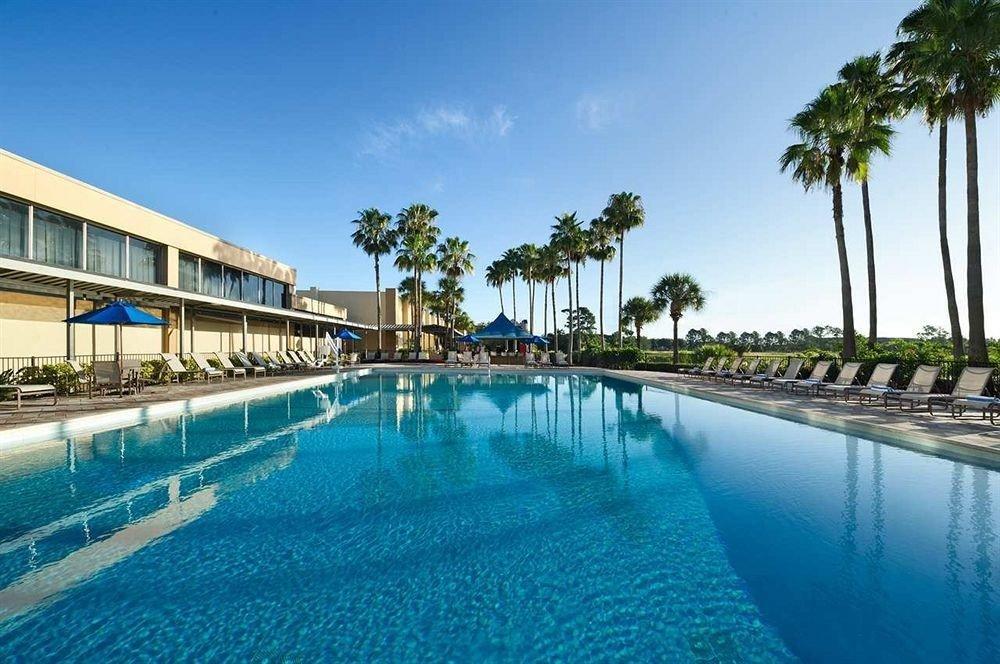 Lounge Luxury Pool sky swimming pool leisure property Resort reflecting pool condominium resort town Lagoon blue swimming