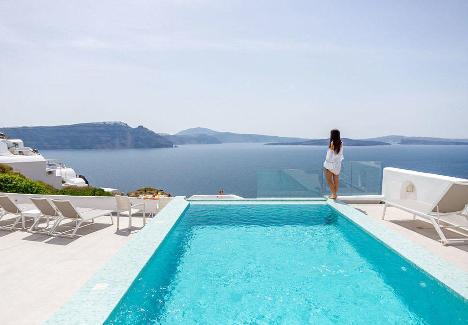sky water swimming pool leisure Sea caribbean Ocean Lagoon Nature Resort swimming shore day