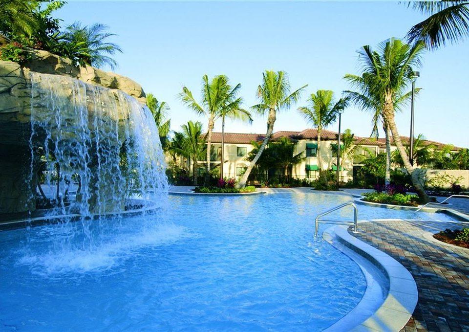 sky tree water swimming pool leisure Pool Resort arecales resort town Nature Lagoon Sea condominium tropics swimming