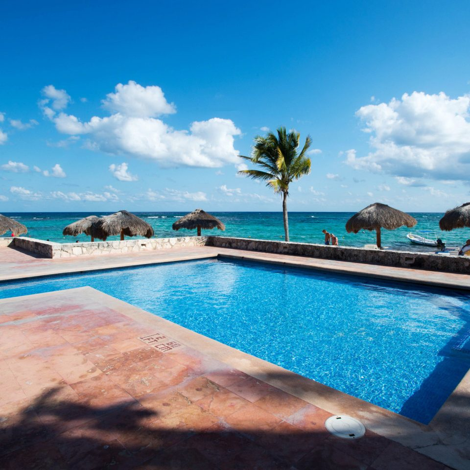 sky swimming pool property leisure Sea Ocean caribbean Resort Pool blue Villa Lagoon shore swimming