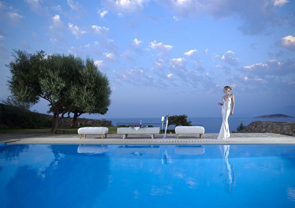sky tree swimming pool water water sport Sea swimming Ocean Lagoon Resort blue reef Pool