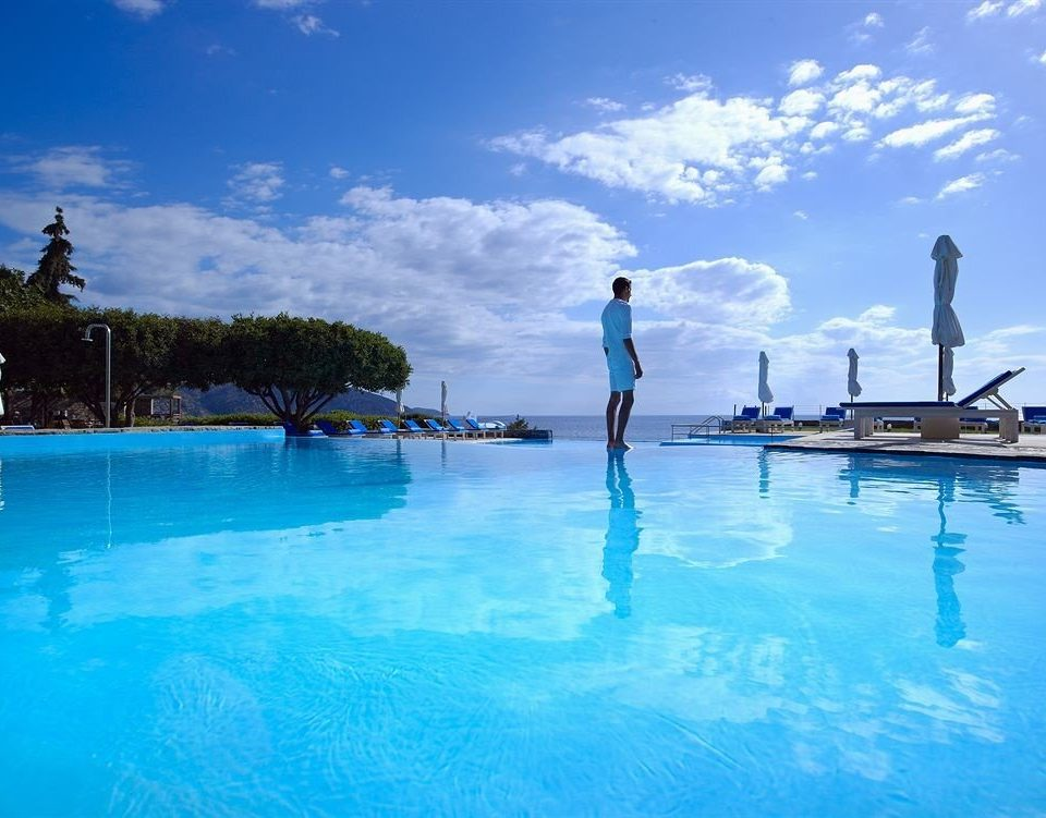 sky water leisure swimming pool water sport Pool blue Sea Ocean Lagoon swimming Resort