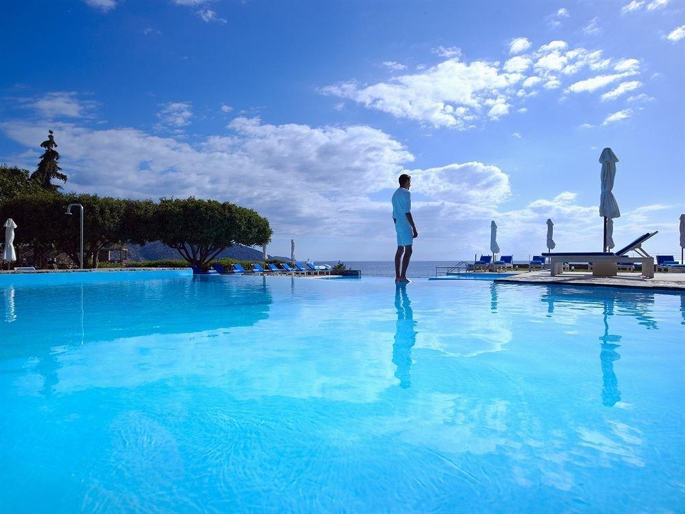 sky water leisure swimming pool water sport Pool blue Sea Ocean Lagoon swimming Resort