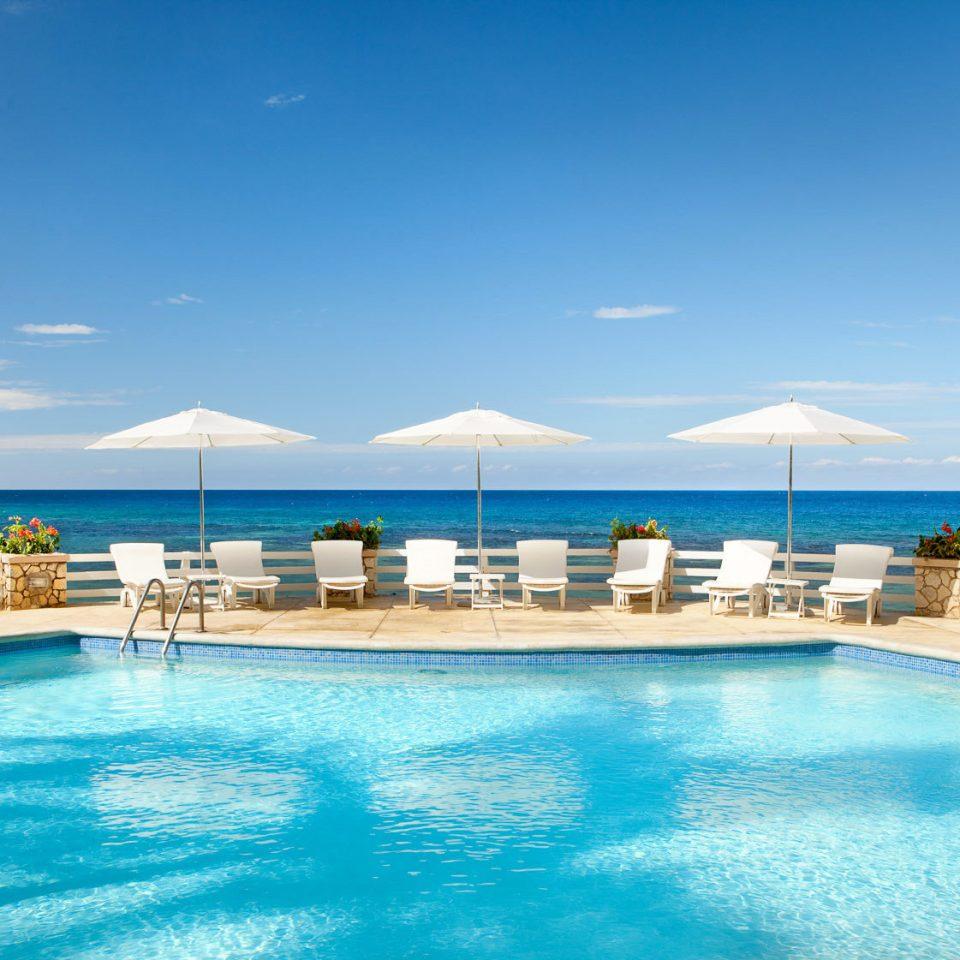 sky water swimming pool leisure Sea Resort caribbean Ocean blue Pool water sport Lagoon resort town swimming shore