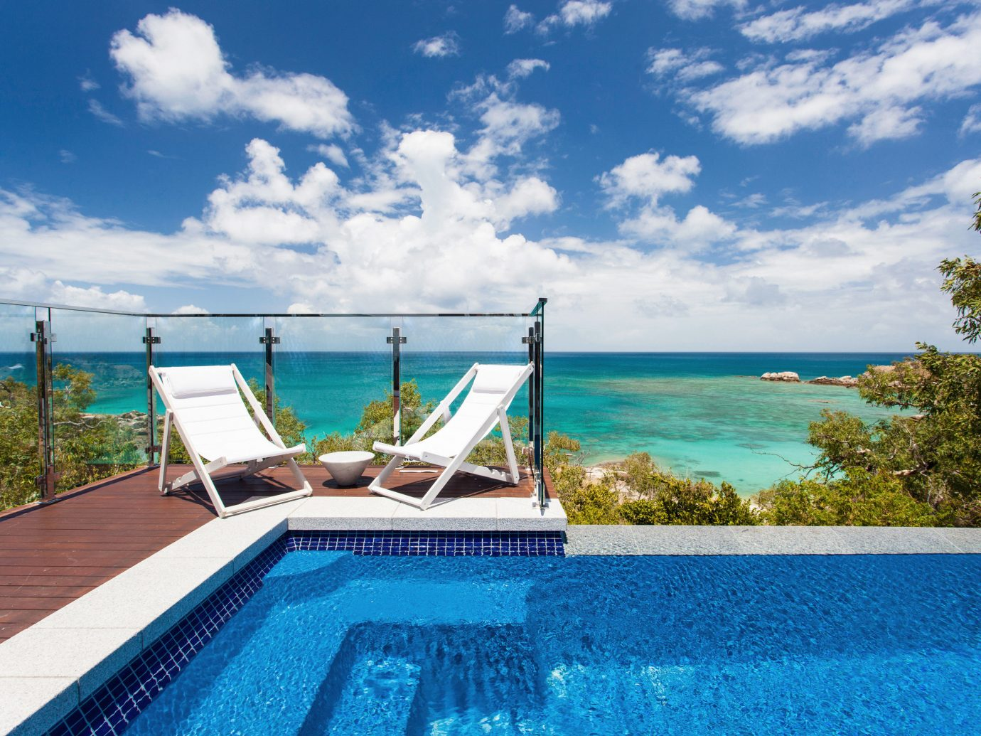 Trip Ideas sky water swimming pool property leisure caribbean Sea Ocean Resort Villa Lagoon blue day