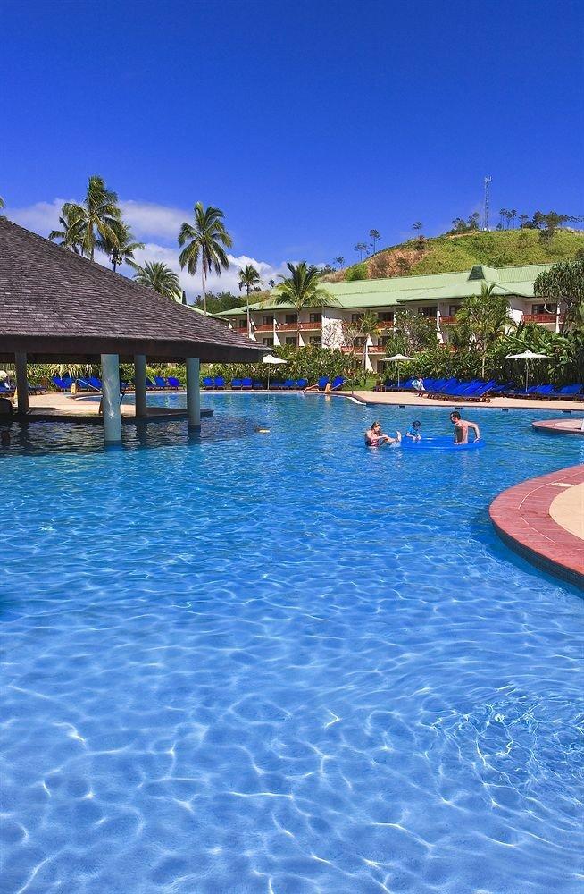water swimming pool Pool leisure Resort swimming Lagoon resort town Sea blue