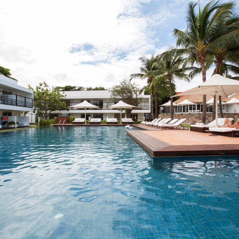 water sky tree Pool swimming pool property swimming Resort marina house dock resort town vehicle Sea Lagoon shore