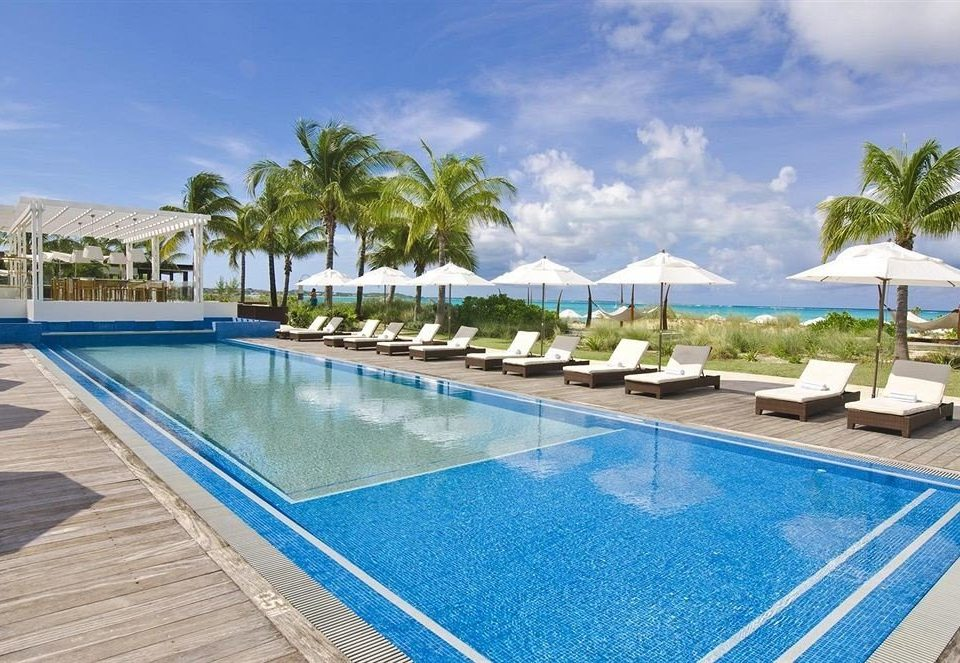 ground sky swimming pool property Resort leisure blue condominium Villa caribbean Pool resort town marina Lagoon empty swimming