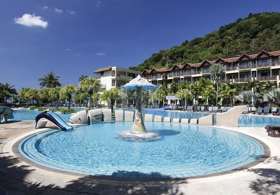 sky Resort swimming pool property leisure Pool resort town blue Villa Lagoon swimming shore sandy