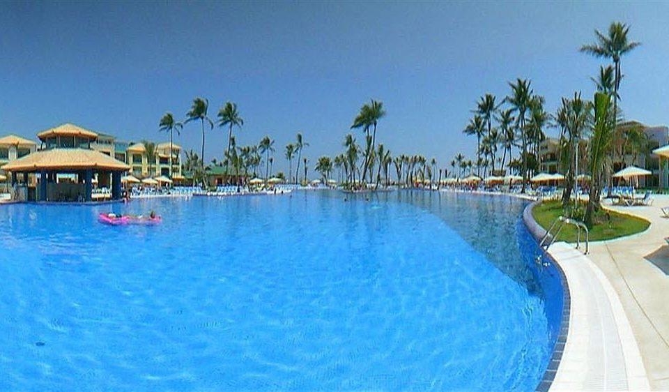 water Pool sky swimming pool swimming Resort property leisure blue resort town Water park caribbean Lagoon Villa surrounded