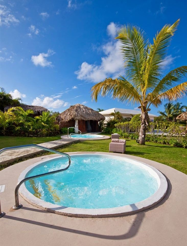 sky tree swimming pool property Pool Villa Resort caribbean Lagoon backyard swimming